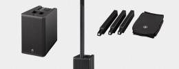 Yamaha StagePas 1K, una PA portable en formato columna