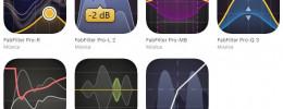 FabFilter porta 7 de sus plugins en apps de iOS compatibles con AudioUnit