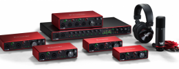 Focusrite Scarlett 3, nueva generación de interfaces USB