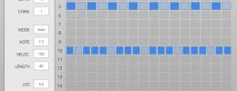 Hornet Hatefish RhyGenerator hace fáciles los complejos ritmos euclidianos