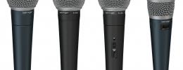 Behringer presenta una oleada de micrófonos: BA 85A, SL 84C, SL 85S, SB 78A
