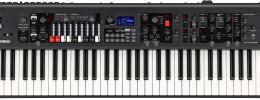Yamaha YC61, primer teclado de escenario con tiradores de la marca nipona