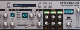 D16 Group Syntorus 2, el chorus BBD virtual se expande con más delay, filtros y formatos
