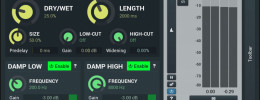 MeldaProduction MCharmVerb, plugin de reverb gratuito con soporte M/S y Surround