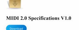 MIDI 2.0, ya puedes descargar las especificaciones completas