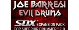Joe Barresi Evil Drums SDX para Superior Drummer 2.0