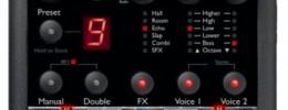 TC Helicon anuncia el pedal VoiceTone Harmony-G XT