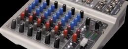 Peavey anuncia los mixers PV 6 USB y PV 8 USB