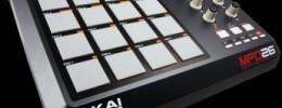 Akai anuncia el controlador MPD26