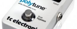 TC Electronic PolyTune, el primer afinador polifónico