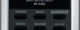 Nueva grabadora portátil R-05 de Roland