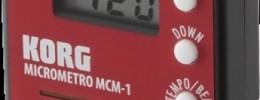 Korg presenta microMETRO, un metrónomo miniatura