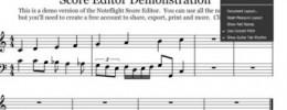 Noteflight presenta Crescendo, la evolución de su editor de partituras online