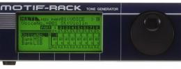 Yamaha presenta Motif Rack