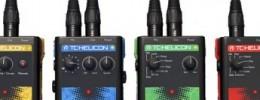 TC Helicon presenta VoiceTone Singles y Mic Control