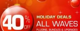 40% de descuento en bundles, plugins, y actualizaciones de Waves