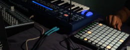 Thavius Beck con Ableton Live, Launchpad y Ultranova