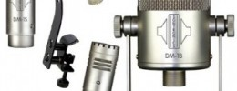 Nuevos micrófonos para batería Sontronics DM