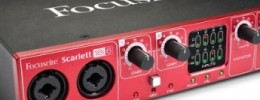 Nuevas interfaces Scarlett de Focusrite