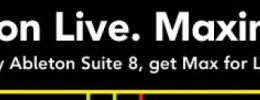 Max for Live gratis con Ableton Suite 8 y nuevo sinte The Granulator