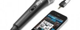 VocaLive y iRig Mic: portabilidad extrema