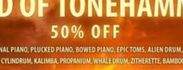 Tonehammer llega a su fin y rebaja librerías al 50%