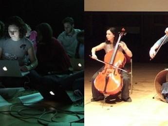 Una orquesta con ordenadores portátiles
