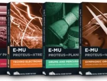 Regresan los E-MU Proteus en formato software