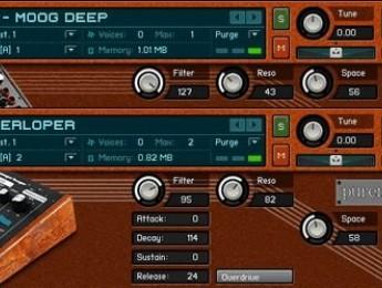 Puremagnetik Circuit:30, más sonidos Moog