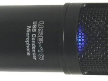 Micrófono de condensador Nady USB-1C