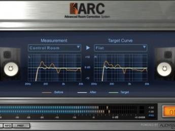 Sistema de corrección acústica IK Multimedia ARC disponible