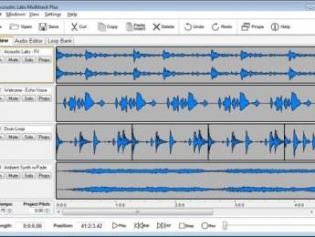 Acoustic Labs Multitrack Plus y Multitrack Recorder