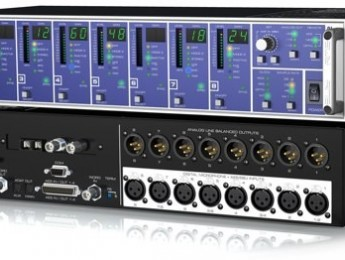 Interfaz y controlador de micrófonos digitales RME DMC-842