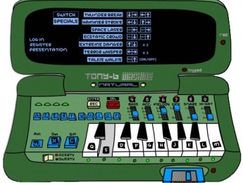 Secuenciador en flash Tony B Machine