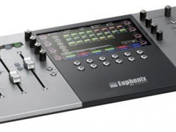 Superficies de control Euphonix MC Mix y MC Control