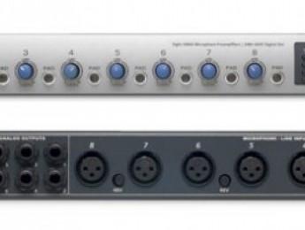 PreSonus FireStudio Tube y DigiMAX D8