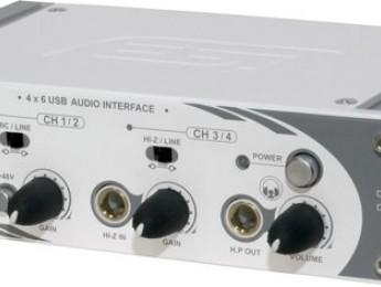 Interfaz de audio USB ESI U46 XL