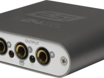 Interfaz USB compacta ESI U24 XL