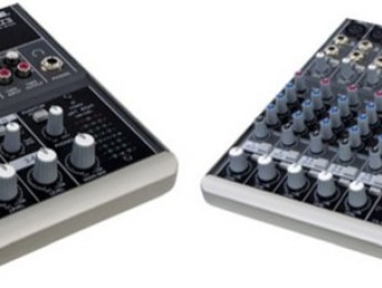 Mesas de mezcla Mackie 402-VLZ3 y 802-VLZ3