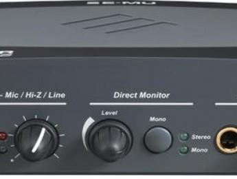 Interfaz de audio E-MU Tracker Pre