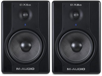 Monitores M-Audio Studiophile BX5a y BX8a Deluxe