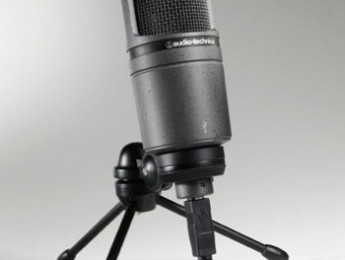 Micrófono de condensador Audio-Technica AT2020 USB
