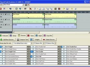 Plugin MIDI SoundTrek Drummer