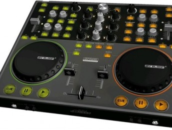 Controlador DJ e interfaz de audio Digital Jockey de Reloop