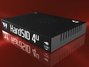 Sintetizador HardSID 4U basado en Commodore 64