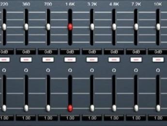 Algoritmo de ecualización BTE Audio BEQ2 British Console