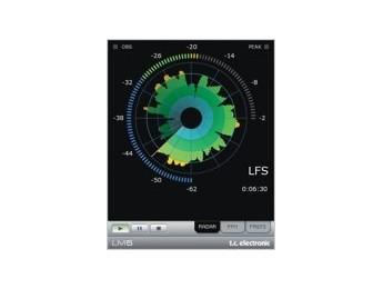 TC Electronic LM5 Loudness Radar Meter para Pro Tools HD