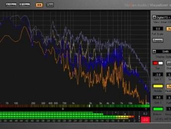Versión beta de NuGen Audio Visualizer para Mac OS X