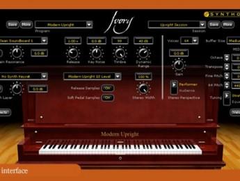 Synthogy Ivory Upright Pianos
