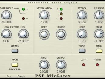 El nuevo PSP MixPack añade el plugin MixGate2